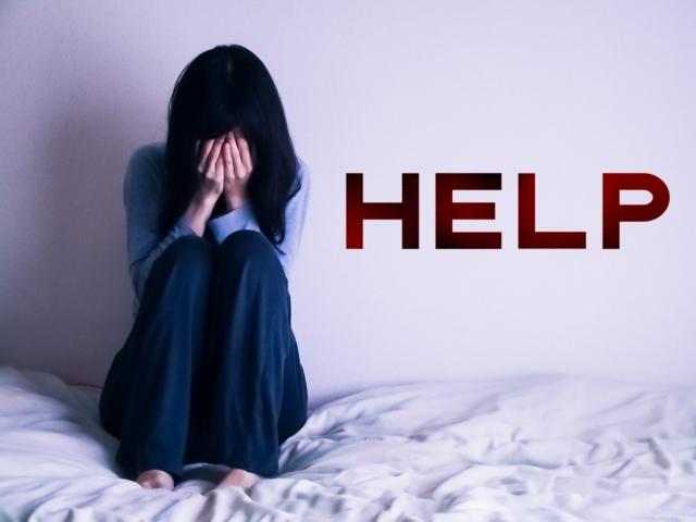 パニック障害で不安を抱えている女性