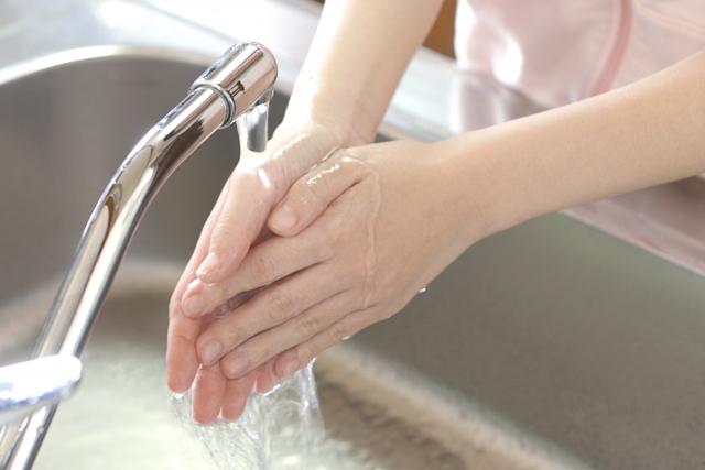 感染予防は手洗いが一番